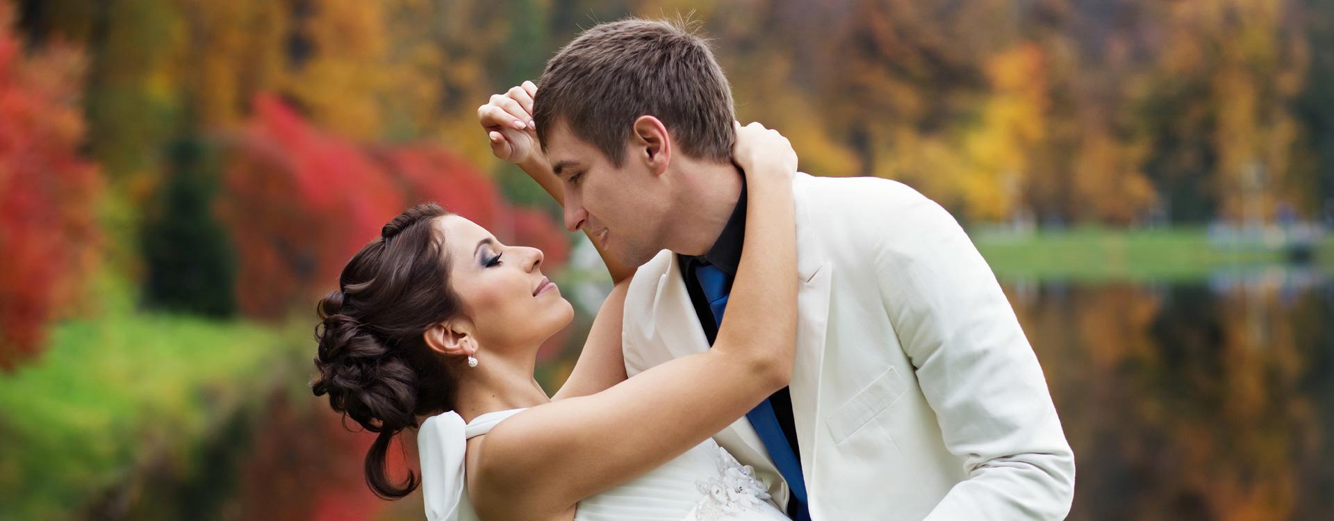 Wedding WordPress Theme Front Page